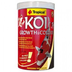 KOI GROWTH & COLOUR PELLET SIZE S 400 Gr